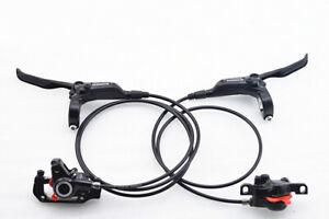 Shimano M365 MTB Brake Hydraulic Disc Brake Set Front and Rear Calipers Black