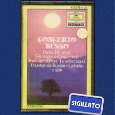 """CONCERTO RUSSO """" DANZA DELLE SPADE """" MUSICASSETTA SIGILLATA  DEUTSCHE GRAMMOPHON"""