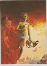 """1994 Boris Vallejo'S Cover For Ballantine Book """"Davy"""" Card # 77 Ex"""