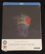 UNDER THE SKIN Blu-Ray SteelBook Zavvi UK Exclusive /2000 Scarlet Johansson Rare