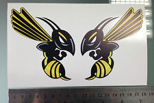 Hornet Honda Bees Decals / Stickers (2 Stickers)