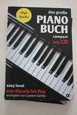 Abverkauf Noten:Gerlitz, Piano Buch von Klassik bis Pop easy level, CD,  Klavier