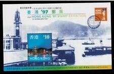 Hongkong MiNr Block 48 Briefmarkenausstellung Hongkong 1997 postfrisch **