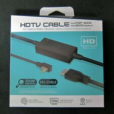 Brand New Hyperkin Sony PSP 2000 3000 Series HD HDMI Cable Adapter for to HDTV