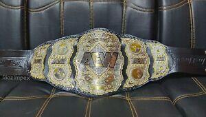 Brand New AEW Championship Replica Belt Dual Plates Adult Size Best quality