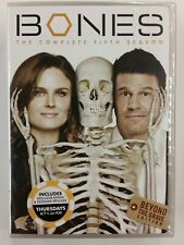 Bones: The Complete Fifth Season (DVD, 2010, 6-Disc Set) New