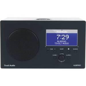 Tivoli Audio Albergo AM FM Clock Radio Bluetooth Enable Speaker