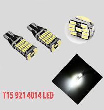 T10 T15 921 168 194 2825 12961 White 45 LED Bulb Reverse Backup Canbus B1 #1