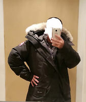 2018 LATEST ARRIVAL CONCEPT EDITION BLACK CANADA GOOSE LANGFORD XXL PARKA JACKET