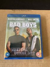 Bad Boys (1995) Blu ray NEW & SEALED Will Smith Martin Lawrence Action