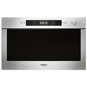 Whirlpool Built In AMW423/IX 22L 750W Microwave - Stainless Steel