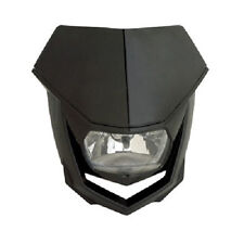 Polisport Halo H4 Headlight Black Motorcycle Enduro Universal Head Light NEW