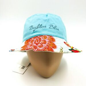 Blu Byblos Ladies Floral Print Summer Hat Size S