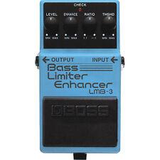 BOSS Bass Limiter Enhancer LMB-3 GUITAR EFFECTS PEDAL w/ Free Pick