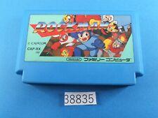 Rockman 1 Megaman NES nintendo Famicom FC Video Games USED From Japan 38835