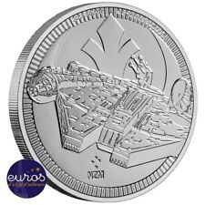 NIUE 2021 - 2$ (dollars) NZD - Millennium Falcon™ - 1oz argent pur - Star Wars™