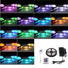 5m RGB LED Strip Band Leiste Streifen Lichtkette 5050 SMD 300 LEDs Innenbereich