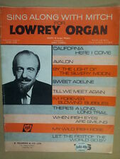 SING ALONG WITH MITCH and the LOWREY ORGAN