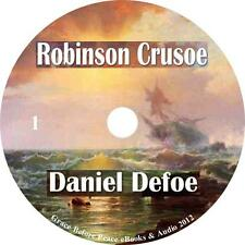 Robinson Crusoe, Daniel Defoe Audiobook Fiction English Unabridged 1 MP3 CD