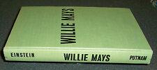 SIGNED! Willie Mays: Coast to Coast Giant 1963 1st Ed. San Francisco NY Giants