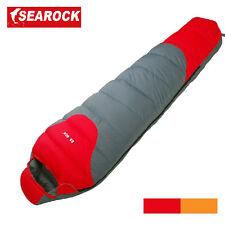 New White Duck Down Mummy Sleeping Bag -20 -10 0 degree Camping Sleeping Bag