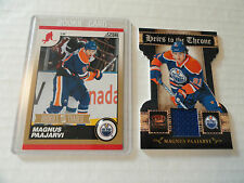 Magnus Paajarvi 2011/12  GOLD Rookie Card & Heirs To The Throne Jersey Card
