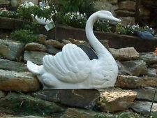 New listing Classic Victorian Detailed Cast Aluminum Swan Planter - Antique Repro.