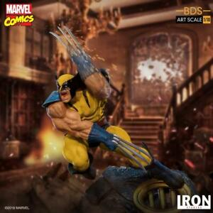 Iron Studios Marvel Wolverine Art Scale Battle Diorama Series Statue