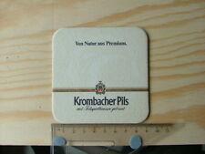 Beermat Coaster Krombacher Pils Von natur aus premium Germany beer BM858
