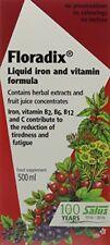 Floradix jarabe hierro Salus (500 ml)