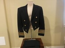 USN WWII Captain Dress Blue Uniform - Inv#M604