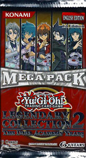 1x ENGLISH Yu-Gi-Oh! YuGiOh 1st ed Legendary Collection #2 Booster Packs SEALED!