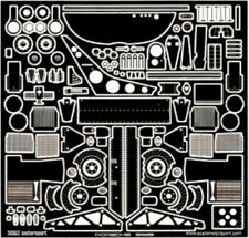 SCALE MOTORSPORT 1/24 Porsche 956 Photo-Etch Detail Set For TAM SMO8022
