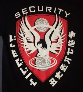 RARE FIREFLY Security T-Shirt FRONT print Serenity Nathan Fillion Joss Whedon M