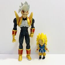 2004 Jakks Dragon Ball GT Super Baby Vegeta(Gold Vest) vs SS3 Goku Set Rare