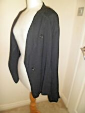 Stunning Lagenlook OSKA Oversized  JACKET in Black Size I Bust 52""