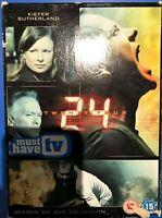 Kiefer Sutherland 24 Season 6 DVD Box Set Spy / Action Thriller Series