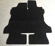 Fußmatten Kofferraumtepich Set für Opel Kadett E Cabrio 1986-93 schwarz 5tlg Neu