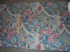 "6.25yds 57""w BURGANDY-TEAL-MINT CONTEMPORARY FABRIC~UPHOLSTERY~PILLOWS~VALANCES"