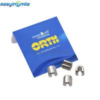 [USA] Orthodontic Stop 10PCS EASYINSMILE Dental Ortho Crimpable Hook Stop CE&FDA