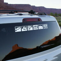 PERFORMANCE SHOWCASE SHOWBOX Car Auto Vinyl Decal Sticker Reflective for Jeep