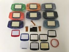 New Game Boy Advance MOD LCD Backlight Kit GBA SP AGS-101 Backlit Screen Shell