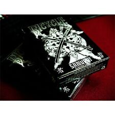 Samurai Deck V2 USPCC Marchand de Trucs Magic Trick Playing Cards Bicycle Black