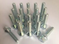 Set of 20 Mercedes Extended Alloy Wheel Bolts M14 x 1.5 45mm Long 17mm Hex