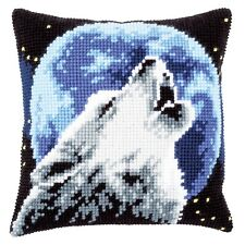 Vervaco ~ Cross Stitch Cushion Front Kit ~ Wolf ~ PN-0171818