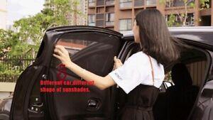 Car Windows Curtains Auto Blind Sun Shade Visor Mesh fit for Toyota RAV4