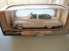 1947 Cadillac Series 62, 1/18 Scale Die Cast Model, Anson