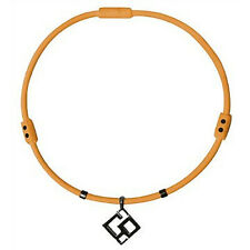 "TrionZ Elite Necklace with Co Pendant - New - Orange (Large 22"")"