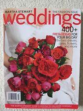 Martha Stewart Weddings Magazine Fall 2010 Fresh Ideas For Your Big Day