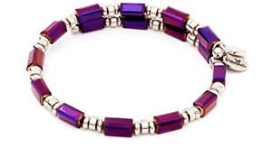 CHRYSALIS Women's Gaia Water Purple Wrap Bangle Bracelet  CRBW0004SPAMAB